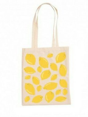 limon-desenli-bez-canta